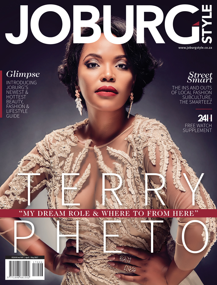 Terry Pheto Cover